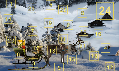animal advent calendars numbers - 6 of The Best Animal Advent Calendars for Daycare Centers
